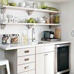 Малка кухня на една стена