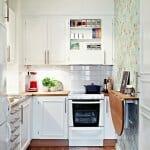 Малка П-образна кухня