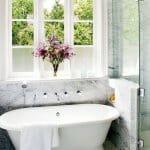 Дизайн на луксозни мраморни бани