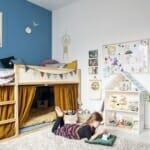 Детска стая за момиче с две легла