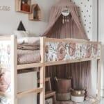 Детска стая за момиче в неутрални цветове
