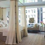 Идеи за спални с бял балдахин-2