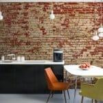 Невероятен тапет имитиращ тухлена стена