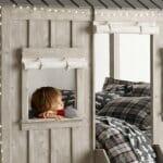 Невероятно детско легло във формата на къща