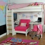 Идеи за обзавеждане за детска стая на два етажа