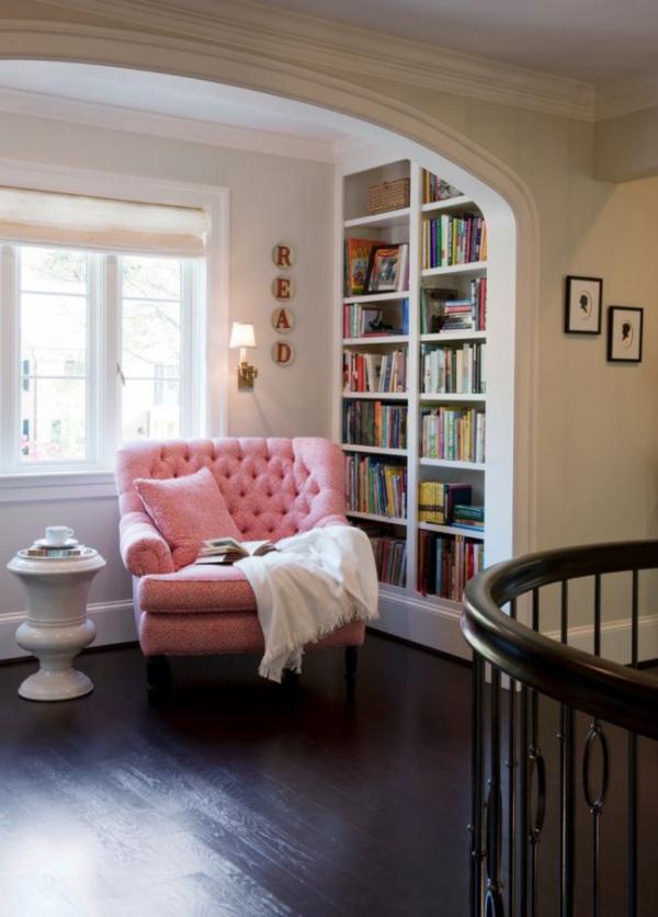 Обособяване на любимо местенце или уютен кът у дома