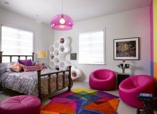 Изобилие от цветове в шарени детски стаи