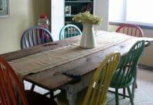 Няколко свежи идеи за дома от стари врати