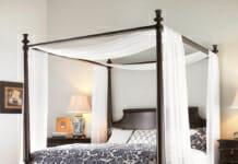 Идеи за спални с балдахин