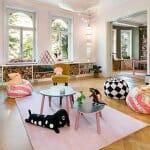 Уникален цветен скандинавски апартамент