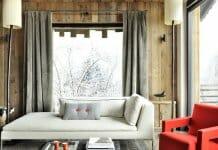 Стилна и модерна къща в алпийски стил
