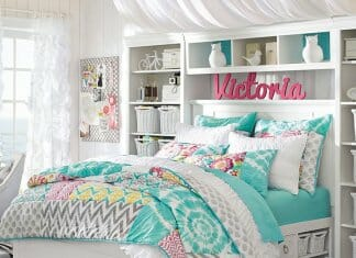 Свежа спалня за тийнейджърка