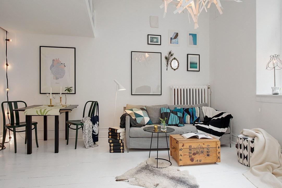 38 for Decorar piso pequeno estilo nordico