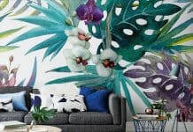 Атрактивна визия или тапети с тропически мотиви