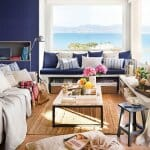 Очарователен дизайн на апартамент с морска панорама
