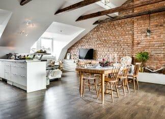 Уникалният тавански апартамент, който си има всичко