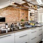 Кухня с изглед към хола