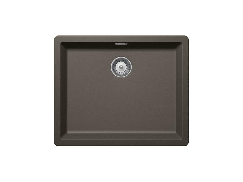 Гранитна мивка за кухня SCHOCK Greenwich N100L-цвят Carbonium