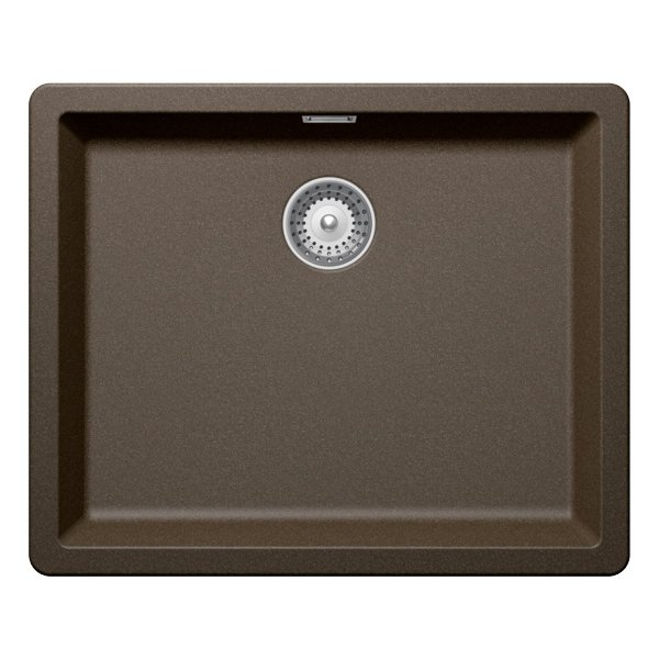 Гранитна мивка SCHOCK Greenwich N100L цвят Bronze