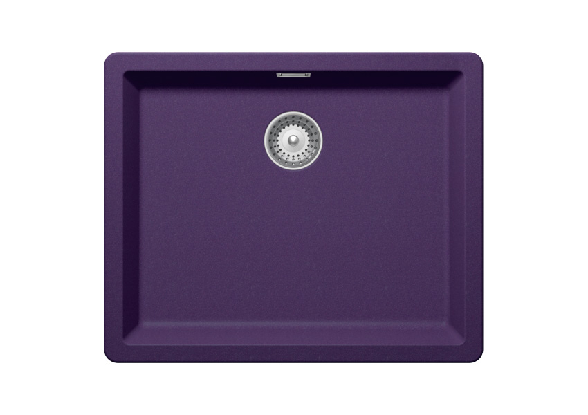 Гранитна мивка SCHOCK Greenwich N100L цвят Indigo