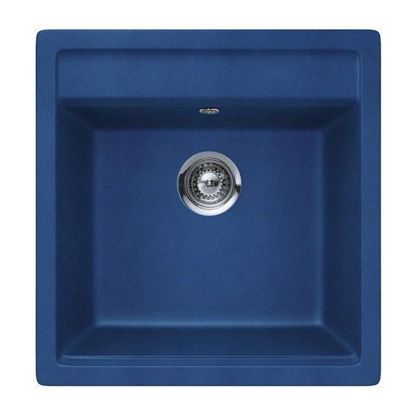 Гранитна мивка SCHOCK Nemo N100S цвят Ocean blue