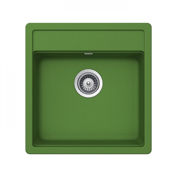 Гранитна мивка SCHOCK Nemo N100S цвят Peppermint green
