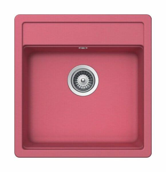 Гранитна мивка SCHOCK Nemo N100S цвят Pink