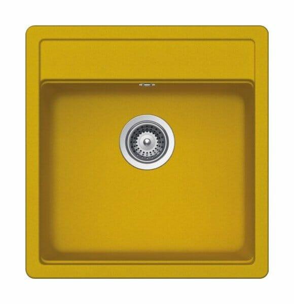Гранитна мивка SCHOCK Nemo N100S цвят Sunflower