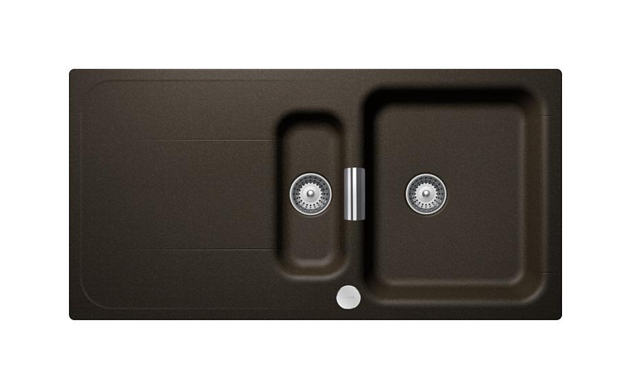 Гранитна мивка Wembley D150 - цвят Bronze