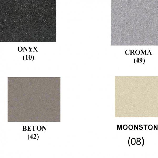 Гранитна мивка Schock MANHATTAN D150S - налични цветове