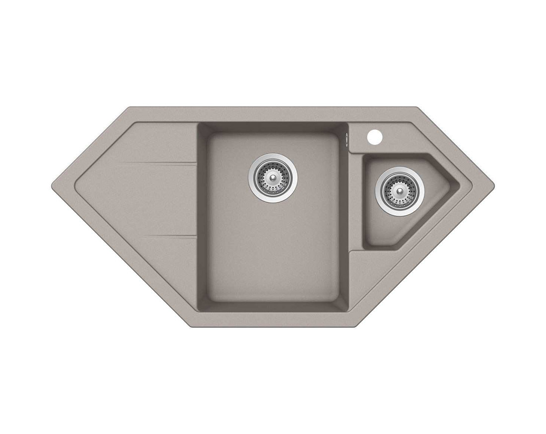 Гранитна мивка Schock Primus C150 цвят Beton