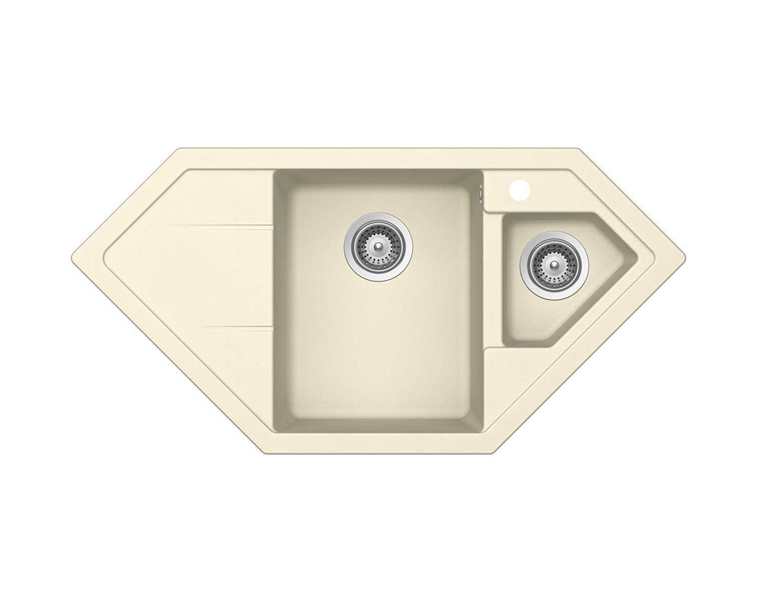 Гранитна мивка Schock Primus C150 цвят Crema