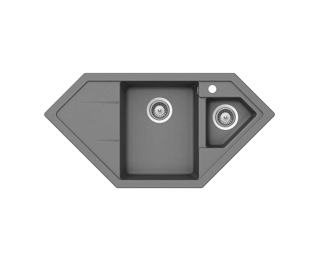 Гранитна мивка Schock Primus C150 цвят Croma