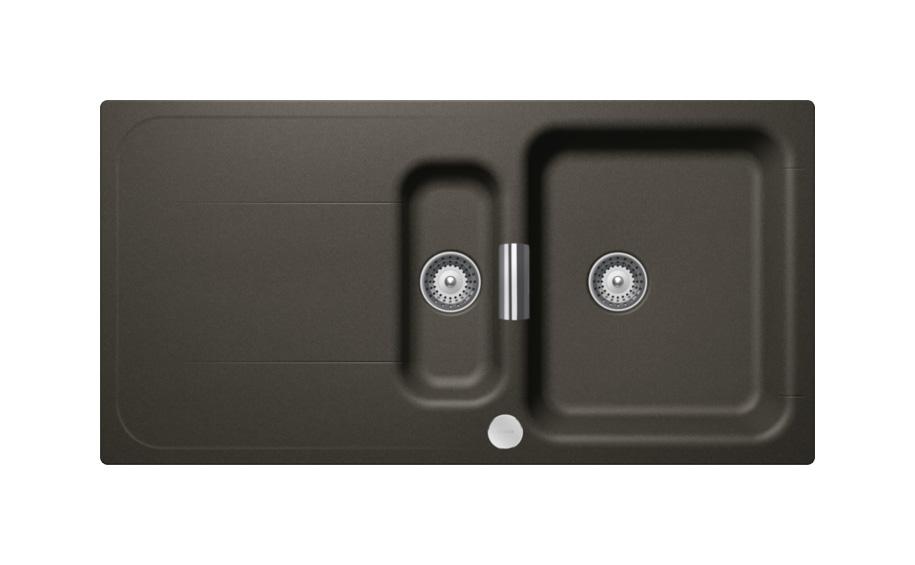 Гранитна мивка Wembley D150 - цвят Carbonium
