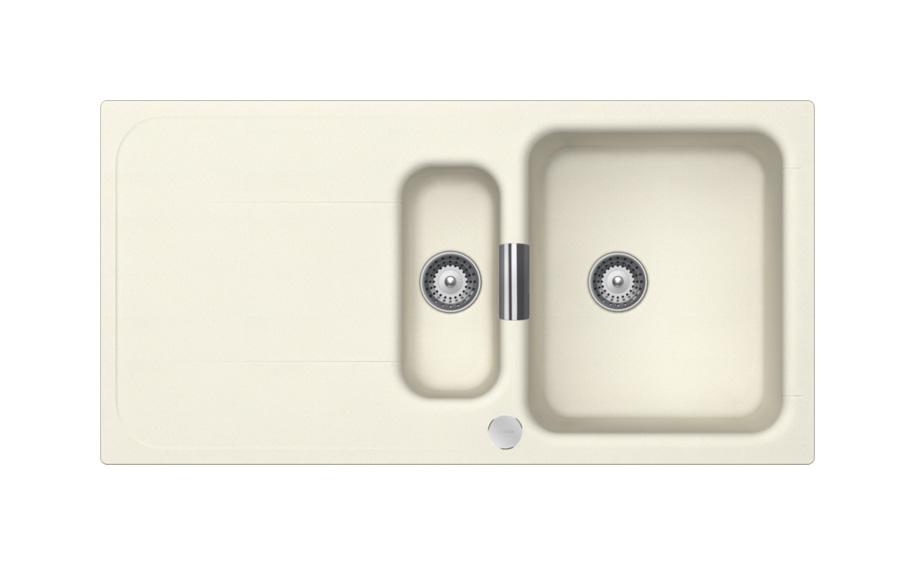 Гранитна мивка Wembley D150 - цвят Magnolia