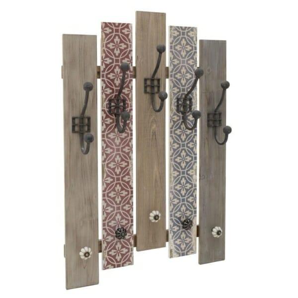Дървена закачалка за дрехи за антре