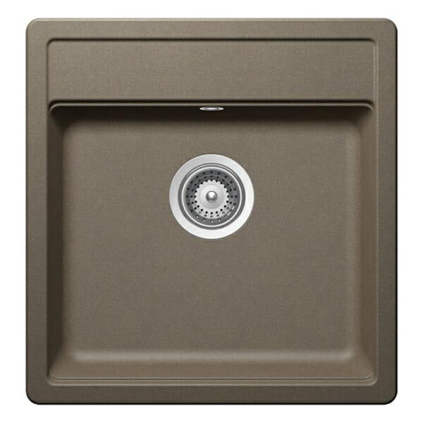 Квадратна мивка за кухня SCHOCK Nemo N100S цвят Alpaca