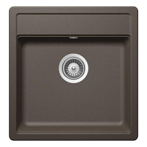 Квадратна мивка за кухня SCHOCK Nemo N100S цвят Inca