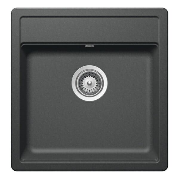 Квадратна мивка за кухня SCHOCK Nemo N100S цвят Roca