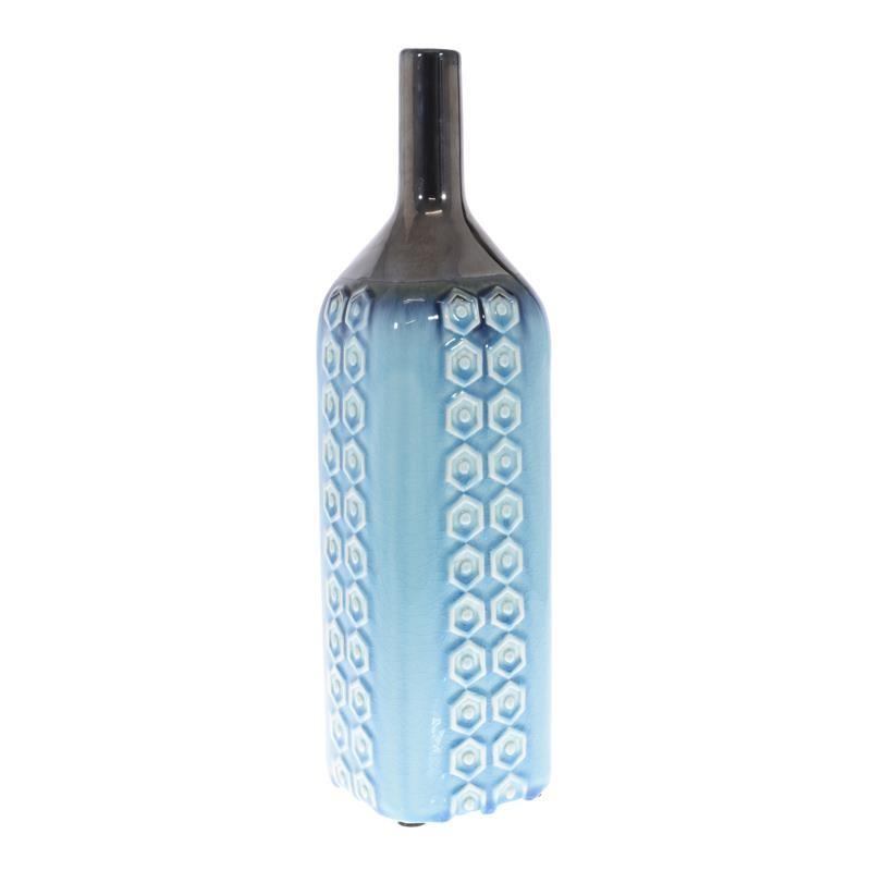 Керамична ваза с орнаменти