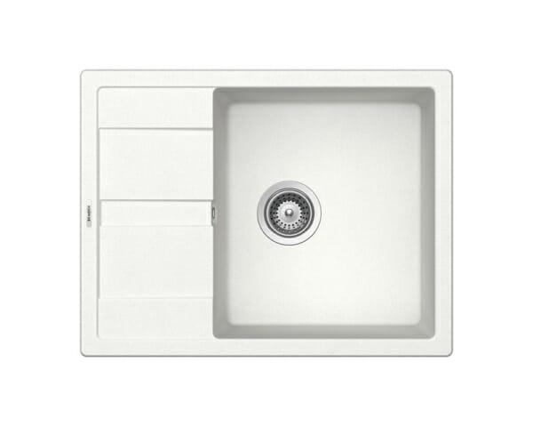 Компактна мивка от гранит SCHOCK Ronda D100L - цвят Alpina