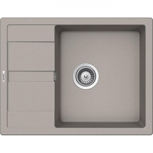 Компактна мивка от гранит SCHOCK Ronda D100L - цвят Beton