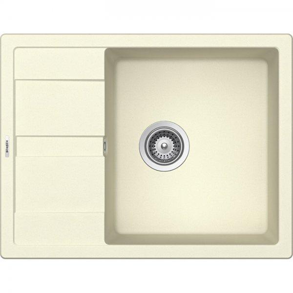 Компактна мивка от гранит SCHOCK Ronda D100L - цвят Crema