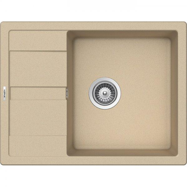Компактна мивка от гранит SCHOCK Ronda D100L - цвят Moonstone