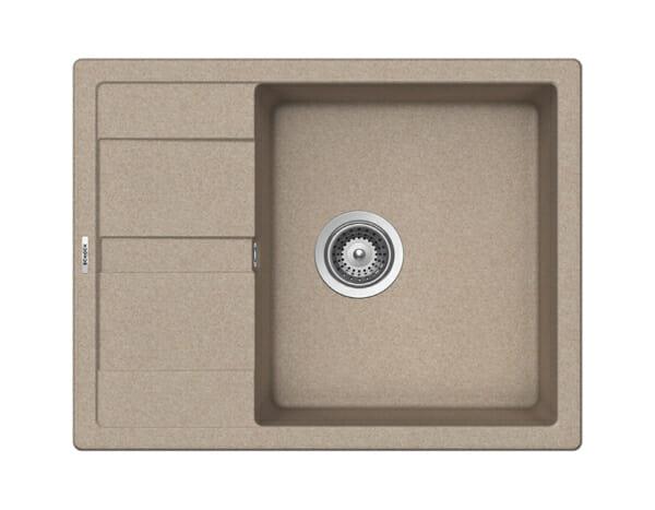 Компактна мивка от гранит SCHOCK Ronda D100L - цвят Sabbia