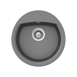 Кръгла мивка за кухня от гранит SCHOCK Manhattan R100 цвят Croma