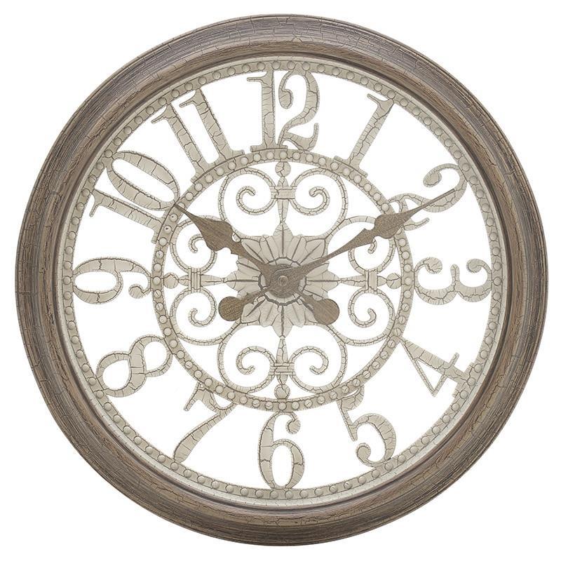 Кръгъл стенен часовник