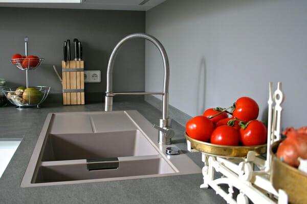 Модерна кухня с мивка от гранит SCHOCK Horizont D150