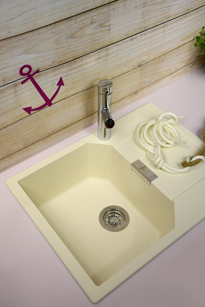 Монтирана мивка за кухня от гранит SCHOCK Manhattan D100S