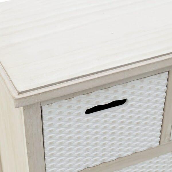 Модерен дървен шкаф - отблизо